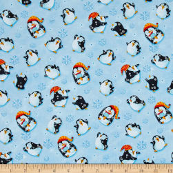 Penguin Parade Little Penguins Light Blue