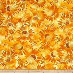Kanvas Sun Valley Metallic Sun Dance Gold Fabric