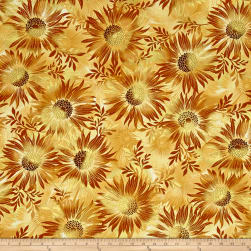Kanvas Sun Valley Metallic Sun Dance Tan Fabric