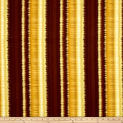Kanvas Sun Valley Metallic Sunset Stripe Tan Fabric