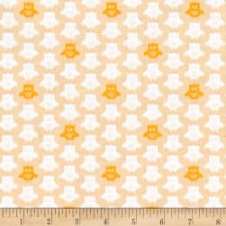 Contempo Owls And Pals Owls Mango Fabric