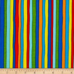 Pete The Cat Stripe Multi Fabric