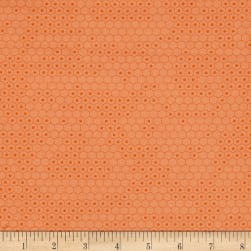 Chasing Waves Fish Net Orange Fabric