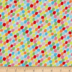 Chasing Waves Candy Spots Bright Fabric