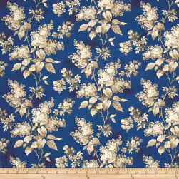 Blue Sky Lilacs Full Moon Fabric