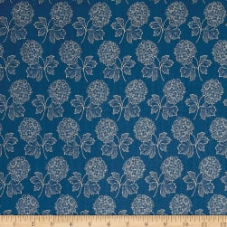 Blue Sky Cloud Nine Full Moon Fabric