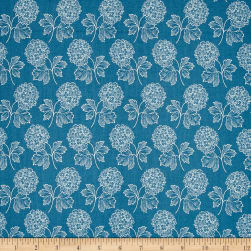 Blue Sky Cloud Nine Blue Bird Fabric