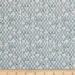 Blue Sky Sweetheart Brisk Fabric