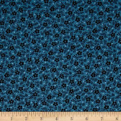 Blue Sky Meadow Cadet Fabric