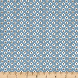 Blue Sky Daisy Baltic Fabric