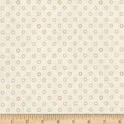 Blue Sky Bubbles Cirrus Fabric