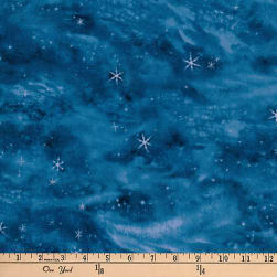 Kaufman Winter's Majesty Digital Sky Midnight