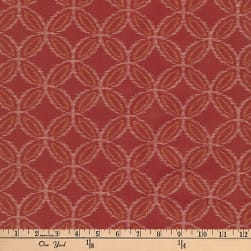 Kaufman Kasuri Geo Circles Red Fabric