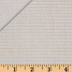 Kaufman Chambray Stitched Yarn Dyed Straight Ivory Fabric
