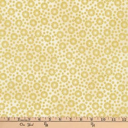 Kaufman Imperial Collection Metallic Geo Natural Fabric