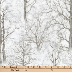Kaufman Sound Of The Woods Metallic Trees Ice