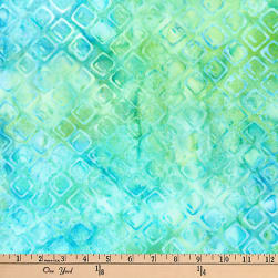 Kaufman Batiks Greenhouse Trellis Sweet Pea Fabric