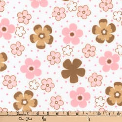Kaufman Cozy Cotton Flannel Ditz Garden Fabric