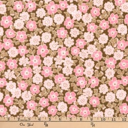 Kaufman Cozy Cotton Flannel Bunches Garden Fabric