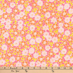 Kaufman Cozy Cotton Flannel Bunches Sorbet Fabric
