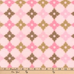 Kaufman Cozy Cotton Flannel Geo Plaid Garden Fabric