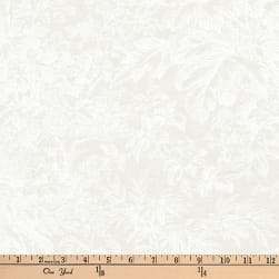 Kaufman Whisper Prints Spray Ivory Fabric