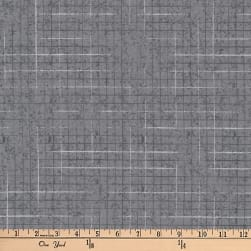 Kaufman Maze Grey Fabric