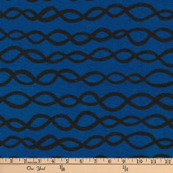 Kaufman Arroyo Linen/Cotton Blend Links Indigo Fabric