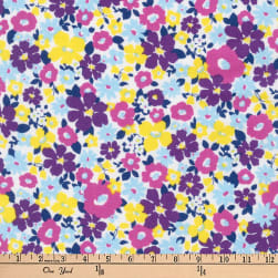 Kaufman Flora Flower Bunch Spring Fabric