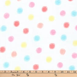 Kaufman Comfy Double Gauze Dots Summer Fabric