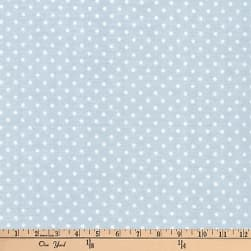 Kaufman Baby Basics Double Gauze Dot Grey Fabric