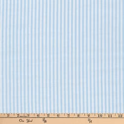 Kaufman Baby Basics Double Gauze Stripe Baby Blue