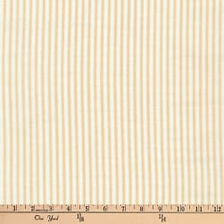 Kaufman Baby Basics Double Gauze Stripe Tan
