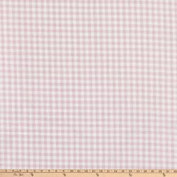 Kaufman Baby Basics Double Gauze Check Pink Fabric