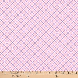 Kaufman Dolly Jean Plaid Pink Fabric
