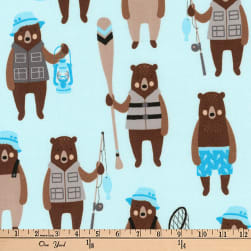 Kaufman Brawny Bears Sportsmen Denim Fabric