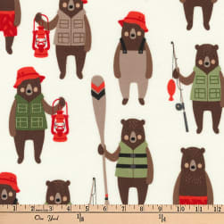 Kaufman Brawny Bears Sportsmen Adventure Fabric
