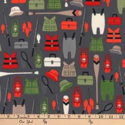 Kaufman Brawny Bears Gear Adventure Fabric