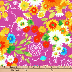 Kaufman Laurel Canyon Bouquet Jewel Fabric