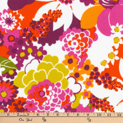Kaufman Laurel Canyon Geo Floral Vintage Fabric