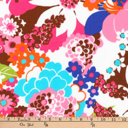 Kaufman Laurel Canyon Geo Floral Retro Fabric