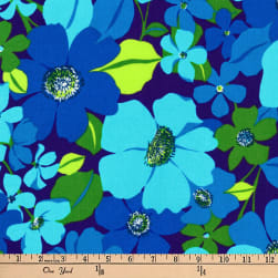 Kaufman Laurel Canyon Floral Spray Laguna Fabric