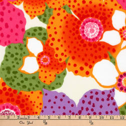 Kaufman Laurel Canyon Floral Bunch Bright Fabric