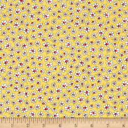 Country Cuisine Small Daisies Yellow