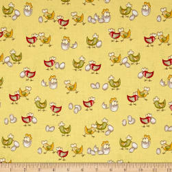 Country Cuisine Baby Chicks Yellow