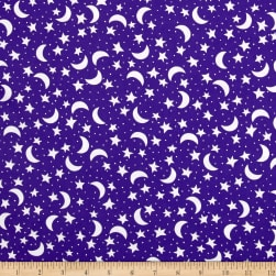 Fright Night Night Sky White On Purple