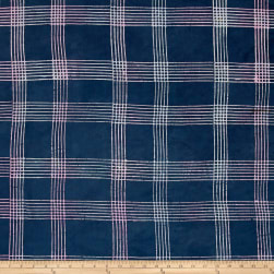 Alison Glass Handcrafted Batiks Chroma Plaid Shadow Fabric