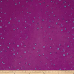 Alison Glass Handcrafted Batiks Chroma Scatter Thistle Fabric