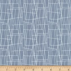 Michael Miller Sassy Cats Atomic Web Gray Fabric