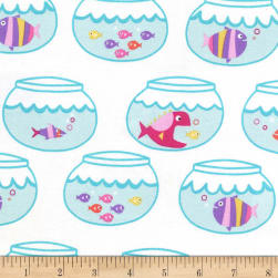 Michael Miller Mer-Mates Swimming In Circles Mermaid Fabric